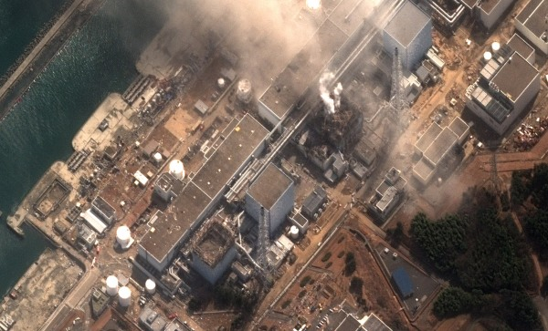 Earthquake and Tsunami damage-Fukushima Dai Ichi Power Plant, Ja